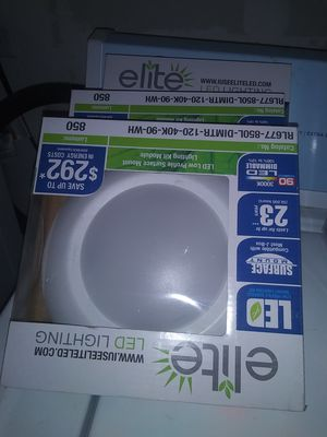 Led lights fixtures 10 dlls each for Sale in Oklahoma City, OK