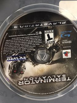 Terminator Salvation PS3 for Sale in Costa Mesa,  CA