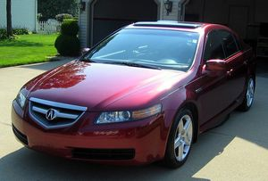 (JUST REDUCED PRICE) 2004 Acura TL Red On Black for \SALE by Owner for Sale in Rockville, MD