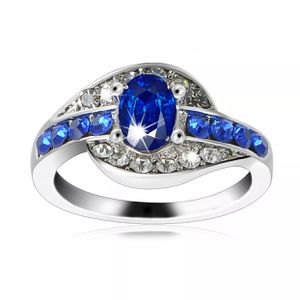 Gold plated sapphire ring size 8 for Sale in Colesville, MD