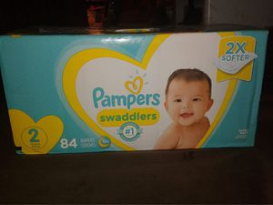 Baby diapers size 2 for Sale in Hollywood, FL