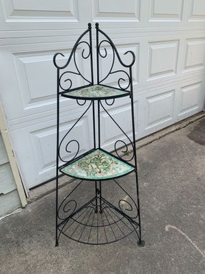 Out doors plant stand for Sale in Douglasville, GA