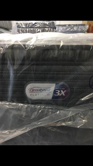 Sealy beautyrest platinum!! 3X Back Care ! for Sale in Kent, WA