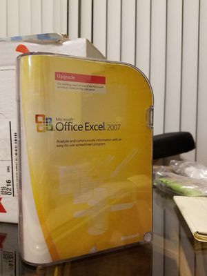Microsoft Office Excel 2007 Upgrade for Sale in West Palm Beach, FL