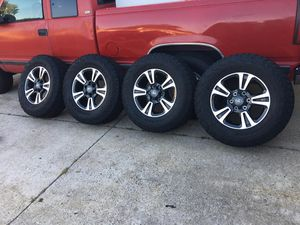 2019 TRD sport rims with sensors and tires for Sale in Lake Forest, CA