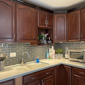 Kitchen Cabinets And Microwave **Only ** for Sale in Schaumburg, IL