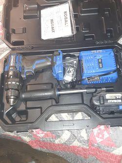 Kolbalt Hammer Drill Set. Used Twice for Sale in Clarksburg,  WV