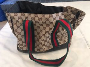 Authentic Gucci Dog Carrier for Sale in Payson, AZ