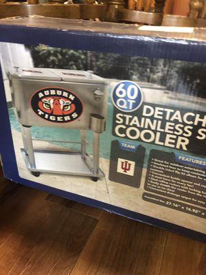 Auburn Tigers metal cooler for Sale in University Park, IL