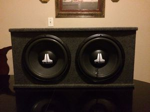 12 inch JL audio speakers with box for Sale in Fresno, CA