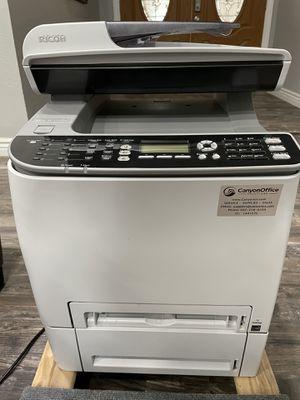 Ricoh Aficio SP C242SF color laser printer scanner copier for Sale in Mesa, AZ