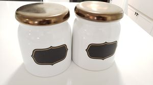 Kitchen Jars - set of 2 for Sale in Hialeah, FL