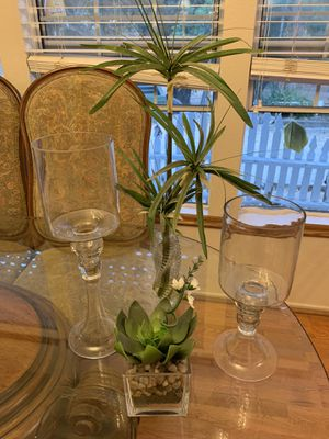 Candle holders & plants for Sale in Creston, CA