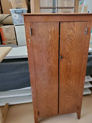 Antique suit cabinet for Sale in Tempe, AZ