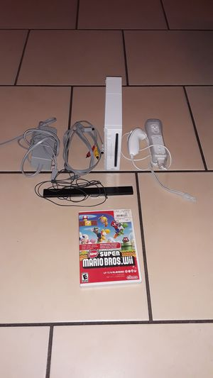 Wii modded and ready to play hundreds of different roms from nes snes sega master n64 and much more for Sale in Las Vegas, NV