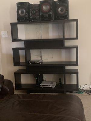 Brown high bookshelve like new for Sale in Fayetteville, GA