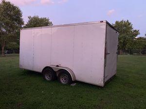 7x16 enclosed trailer for Sale in Murfreesboro, TN