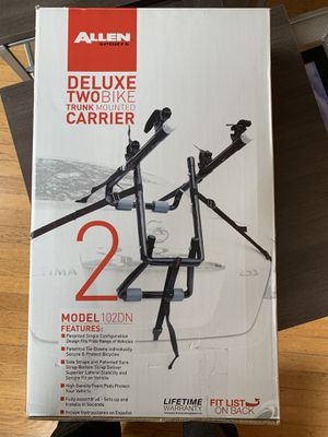 Allen 2 bicycle bike rack - new in box, never used for Sale in Seattle, WA