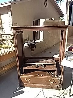 Ethan Allen Entertainment Armoire for Sale in Mount Hope, KS