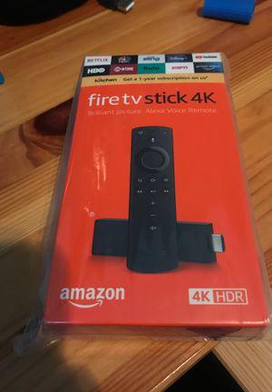 Fire tv stick 4k for Sale in Foxborough, MA