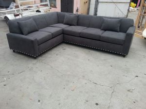 NEW 7X9FT ANNAPOLIS GRANITE FABRIC SECTIONAL COUCHES for Sale in Los Angeles, CA
