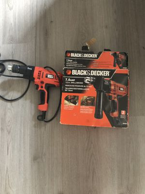 Black and Decker drill for Sale in Alexandria, VA