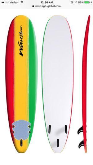 Rasta WAVESTORM 8FT CLASSIC SURFBOARD for Sale in Medford, NJ