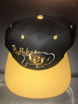 Colorado buffalos snap back hat for Sale in Colorado Springs, CO