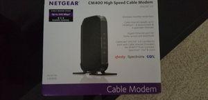 Netgear Cable modem for Sale in Jacksonville, FL