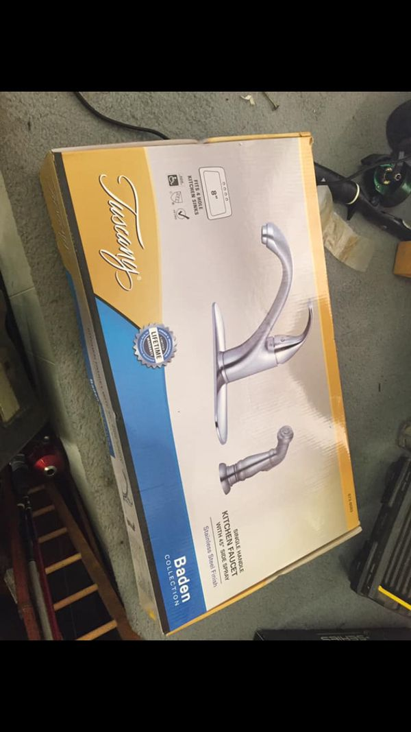 Tuscany, Brand New Faucet