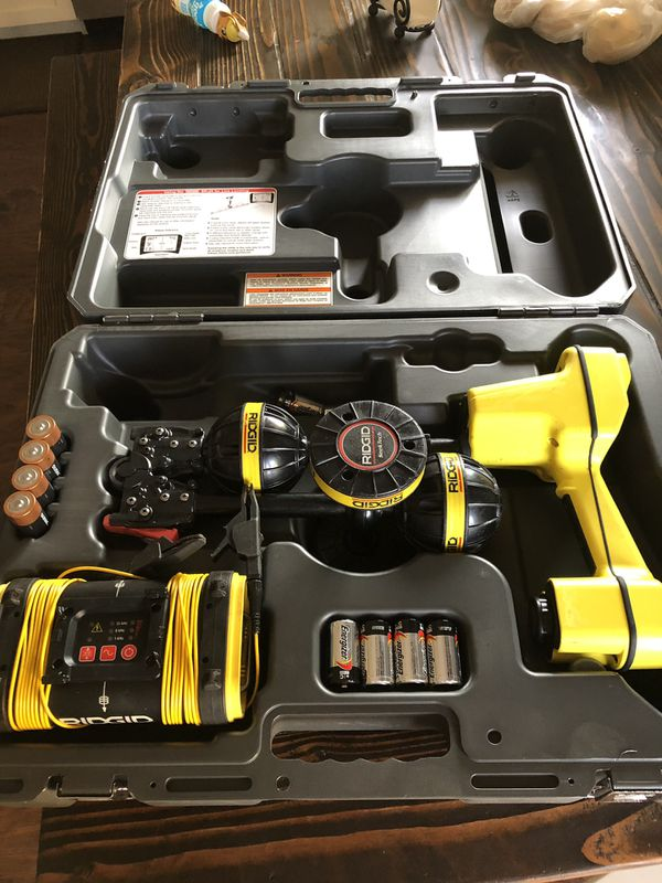 Ridgid SR-20 Utility Line Locator with ST-305 Line Transmitter like new for  Sale in Gilbert, AZ - OfferUp