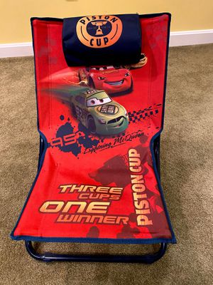 Disney piston cup kid's chair for Sale in Westford, MA