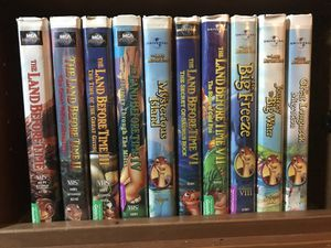 Land before time vhs for Sale in Westminster, MD