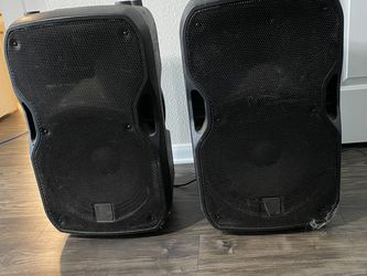 2 10 Inch Alto Powered Subwoofers for Sale in Austin,  TX