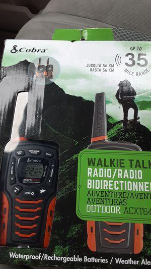 Cobra walkie talkies. for Sale in San Bernardino, CA