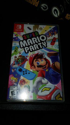 Super Mario Party Nintendo Switch for Sale in Santa Ana, CA