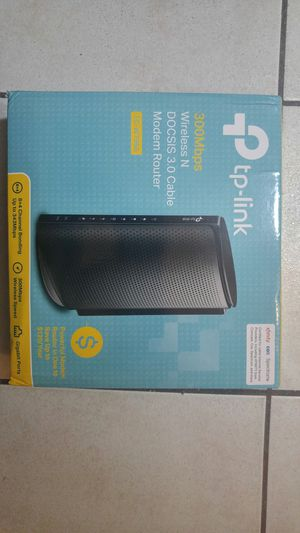 TP-Link TC-W7960 Wireless Modem Router for Sale in Hollywood, FL