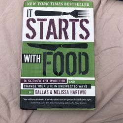It All Start With Food Book for Sale in San Diego,  CA