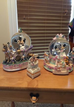 Disney Wedding Snowglobes for Sale in Murfreesboro, TN