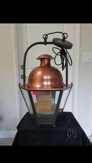 Pottery barn case pendant lamp for Sale in Irvine, CA