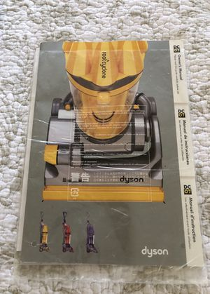 Dyson DC07 Root Cyclone Manual for Sale in Phoenix, AZ