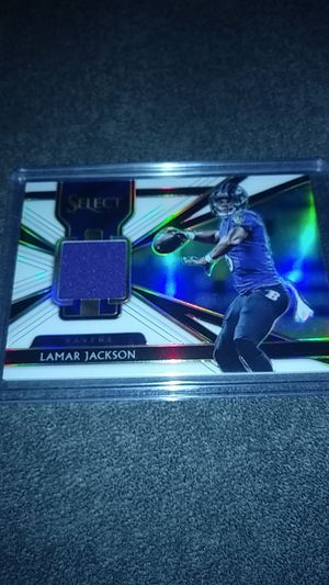 Ravens Lamar Jackson Select Prizm Jersey RC /149 for Sale in Clearwater, FL