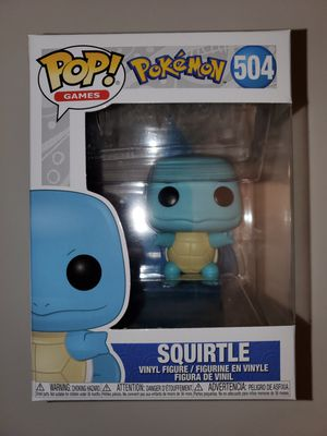 Funko Pop Games Pokemon Squirtle #504 for Sale in Anaheim, CA