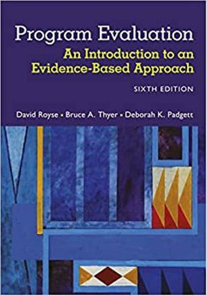 Program Evaluation: An Introduction to an Evidence-Based Approach 6th Edition ebook PDF for Sale in Los Angeles, CA