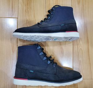 VANS Breton Boots OTW size 10 Black Mint Supreme Old Skool New Era Authentic Cole Haan for Sale in El Monte, CA