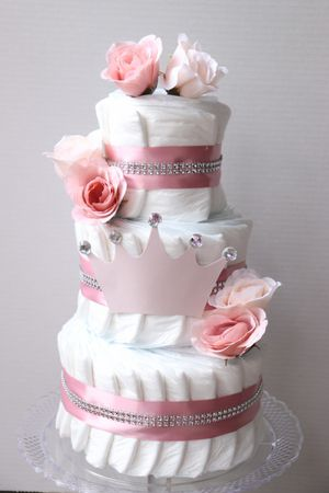 Princess diaper Cake for Sale in Chantilly, VA