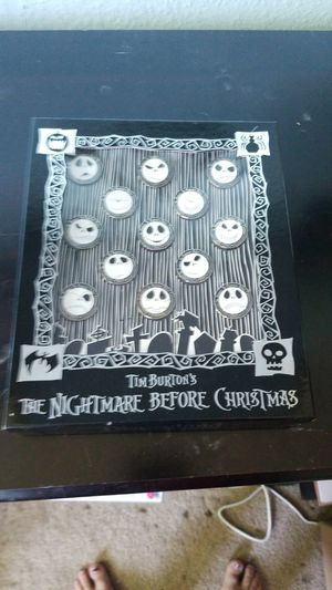 Nightmare before Christmas pins for Sale in San Jose, CA
