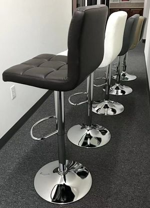 """New in box $40 each barstool bar counter height adjustable 24"""" to 33"""" high chair stool kitchen counter furniture for Sale in Whittier, CA"""