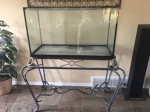 50gl fish tank and stand for Sale in South Salt Lake, UT