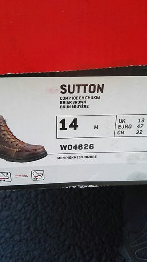 Sz 14 Wolverine steel toe boots for Sale in Pearl River, NY